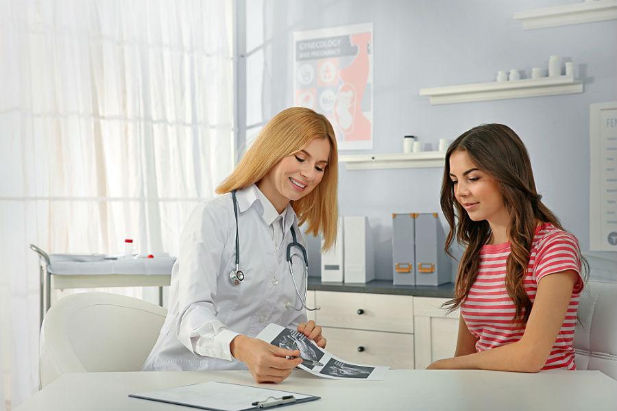 Прием гинеколога с УЗИ